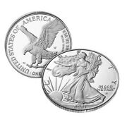 Set Of 3 American Eagle 2021 One Ounce Silver Proof Coin. Confirmed