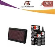 33-2473 + 99-5000 Kandn Air Filter 2012-2015 Honda/acura Cleaning Care Service Kit