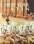 Jenneyand039s First Year Latin Grades 8-12 Student Text 1987c By Charles Jenney Vg