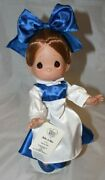 Disney Belle In Blue Dress Precious Moments 12 Doll Beauty And The Beast