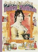 Dolley Madison History Maker Bios By Jean L. S. Patrick Mint Condition