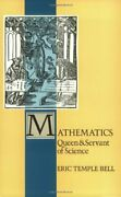 Mathematics Queen And Servant Of Science Spectrum By E. T. Bell Excellent