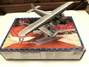 Andnbspford Tri Motor American Airlines Airplane Diecast With Stand And Box Ertl H323 Andnbsp