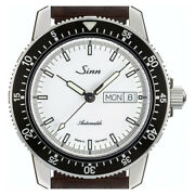 Sinn Watch 104.st.sa.iw New Automatic Winding Sw220-1 Cow Leather Strap