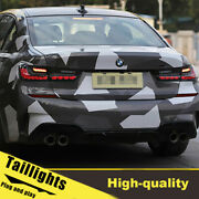 19-20 Led Turn Signal Dynamic Taillights Assembly For Bmw G20 One Set.