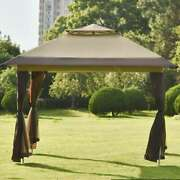 Gazebo Tent Instant With Mosquito Netting Outdoor Gazebo Canopy Shelter Us Stock