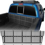 Textured Black Steel Front Bed Molle System Frame For Toyota Tacoma 2005-2015