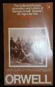 An Age Like This, 1920-1940 Collected Essays, Journalism By George Orwell Mint