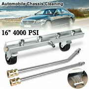 Pressure Power Washer Undercarriage Under Car Cleaner 16 4000 Psi Water Broom