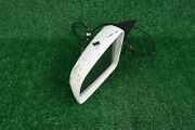 2008 Audi A4 Driver Side Door Mirror Left Side Oem White Tape On Mirror