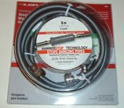 Universal Washing Machine Hoses With Hammerstop Technology 5ft 2 Hose New Sealed