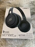 Sms Audio Street By 50 Wired On-ear Sport Headphones Wired Sport Black