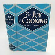 The Joy Of Cooking 1946 Irma Rombauer Vintage Classic Hardcover Cook Book Nice