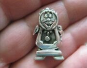 Disney Cogsworth Sterling Used Charm From An Estate Sale