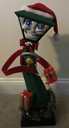Vtg Limited Edition 1998 Motion Activated Frank E Post Singing Lamppost W/ Box