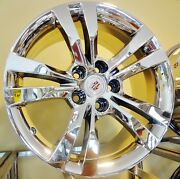 Set Of 4 Cadillac Cts Chrome 18 X 8.5 Oe Spec Wheels Fit Cts 2008 To 2013
