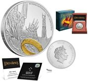 Sauron The Lord Of The Rings Silver Coin