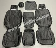 Katzkin Ford F-150 Xlt Regular Cab Black Factory Style Leather Seat Covers