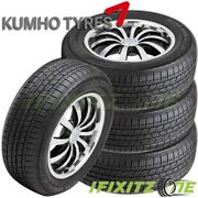 4 New Kumho Eco Solus Kl21 P235/65r17 103t All Season Highway Tires For Suv Cuv