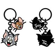Tom And Jerry Metal Keychain