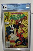 The Amazing Spiderman 362 May 1992, Marvel Carnage Part Two Cgc 9.4