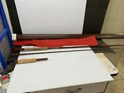 Vintage Fenwick Ff909 9' Fly Rod Fiberglass With Original Case And Sleeve