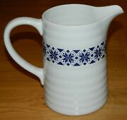 Water Pitcher Ikea Country Farmhouse Kitchen Blue And White Pattern 10866 48 Oz