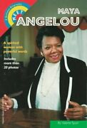Meet Maya Angelou A Bullseye Biographies By Valerie Spain Excellent Condition