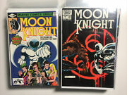 Moon Knight 1-38 1980 Complete Set Run Lot 25 29 See Description 4 Conditions