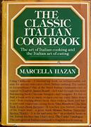 Classic Italian Cook Book Art Of Italian Cooking And By Marcella Hazan Vg+