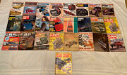 25 Issue Lot Of Various Vintage 1960andrsquos Car Craft Sports Car Graphic Magazine