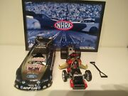 Ashley Force 2010 Action Queen Of Hearts Color Chrome Mustang Funny Car /533