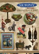 Scarce Morphy Auction Catalog Prices - Advertising Tin Cast Iron Toys Banks