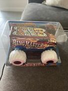 Ring Master Dairy Delivery Monster Jam Truck 1/24 Scale Diecast Hot Wheels 2018