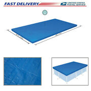 10ft6ft.9in Pe Pool Cover For Rectangular Above Ground Pools 58106 High Quality