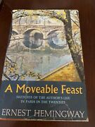 Ernest Hemingway / A Moveable Feast First Edition 1964