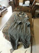 Us Military Nomex Flight Suit With Rank And Patches 40s