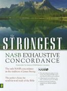 Strongest Nasb Exhaustive Concordance Super Saver By James Strong - Hardcover Vg