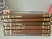 Time Life The Old West Set Of 6 Books, Cowboys Gunfighters Great Chiefs Indians