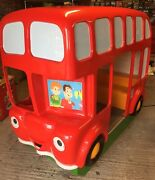 Double Decker Coin Operated Kiddie Ride Good Condition Profitable Vending Cash