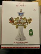 Hallmark 2017 Disney's Oh What Fun--mickey Mouse Tree Topper New In Box
