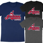 1915-2021 Cleveland Indians Team Name Change Chief Wahoo Kids And Adults T-shirt