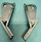 1955-57 Pontiac, Chevy Convertible Top Cylinder Brackets, Good Used 1-pair