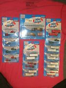 Cmw Mini Metals Lot Of 14 Tractor Trailers In Blister Packs N Scale