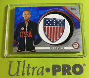 2020 Topps Team Usa Olympics Tri Bourne Relic Patch🥇extremely Rare 1 Of/50