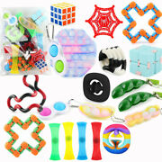 22pack Stress Relief Sensory Tools Kids Figet Toys Set Bundle Autism Adhd Adults