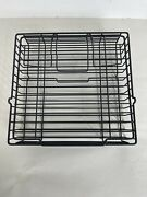 Ronco Showtime Rotisserie Bbq 3000t Metal Wire Cooking Rack Basket 8 X 8 1/2 X 2