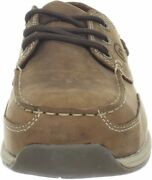 Rockport Works Menand039s Sailing Club 3 Eye Tie Boat Shoe