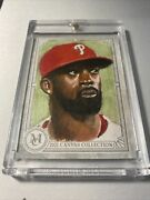 2021 Topps Museum Collection Andrew Mccutchen🌟1/1 Hand Painted Phillies Art Hof