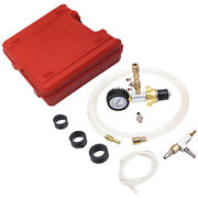 6pc Universal Cooling System Vacuum Purge And Refill Car Van For Radiator Kit